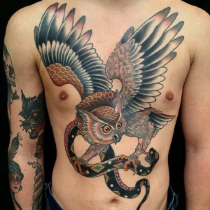 Faux Tatouage homme