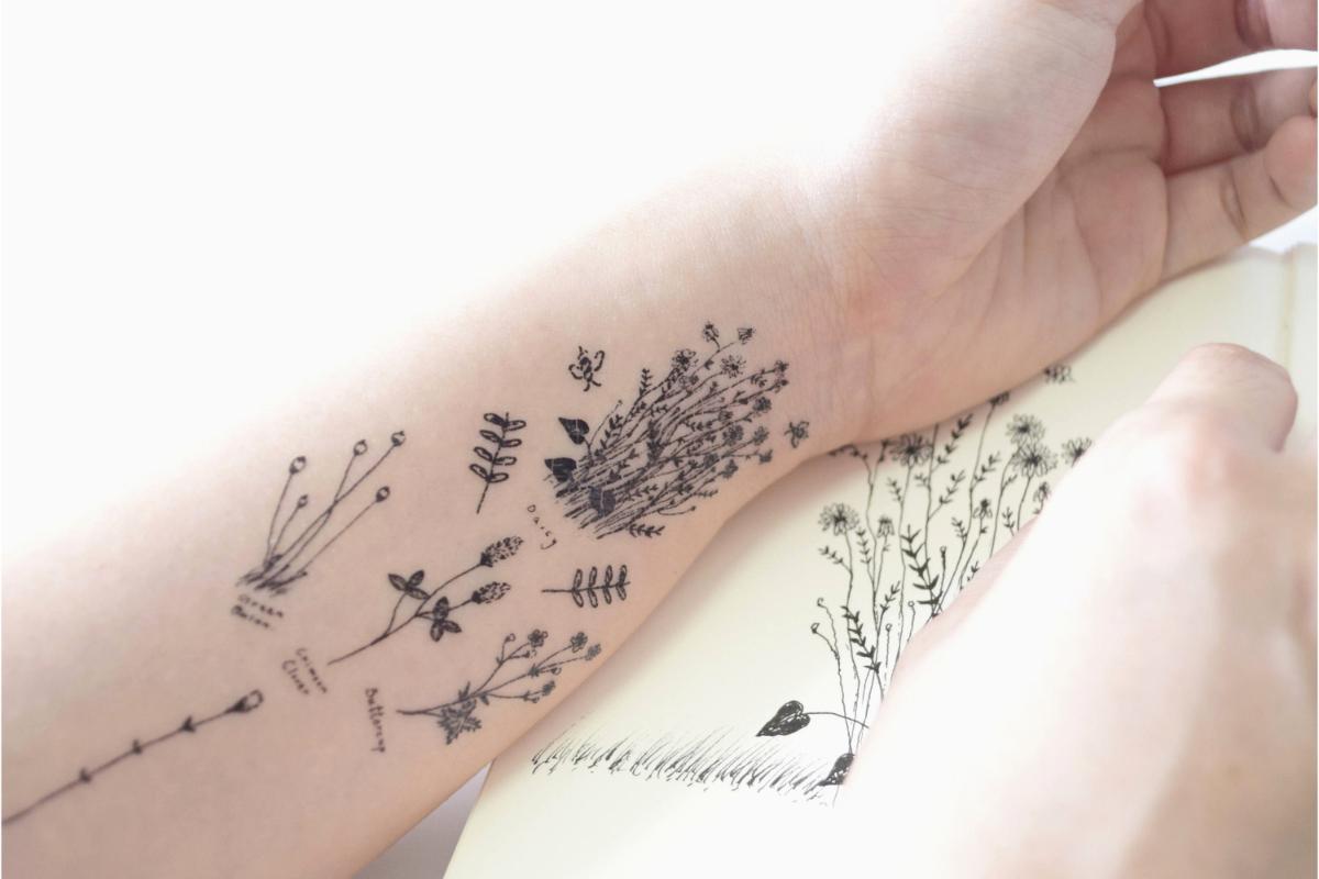 Tattoo éphémère, comment ça marche ?