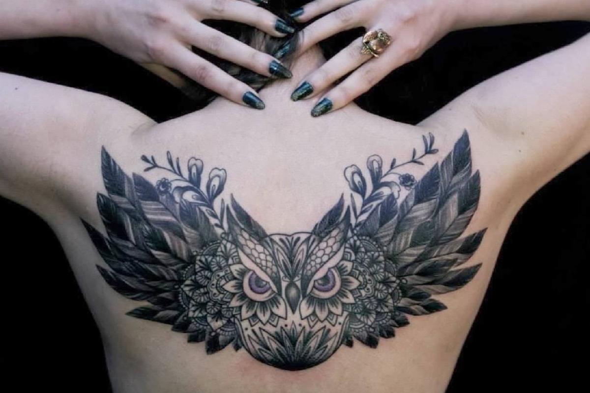 Tatouage ephemere femme